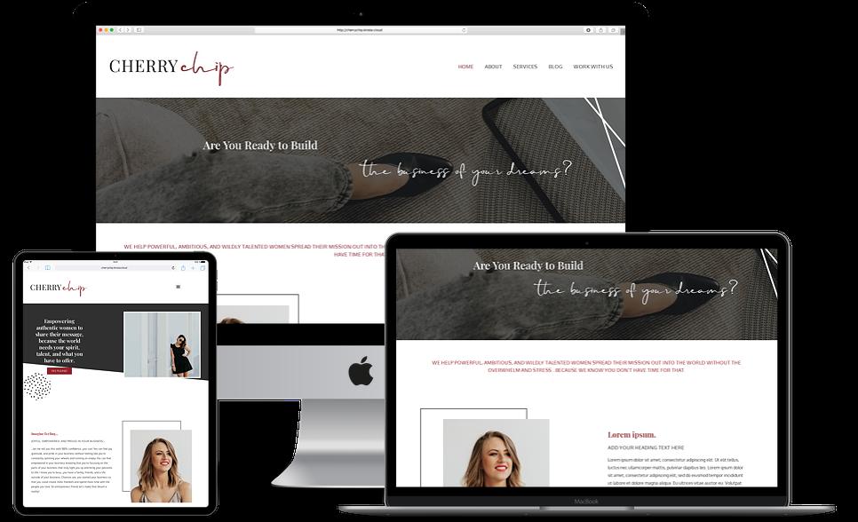 Neapolitan Cherry Chip Site Kit