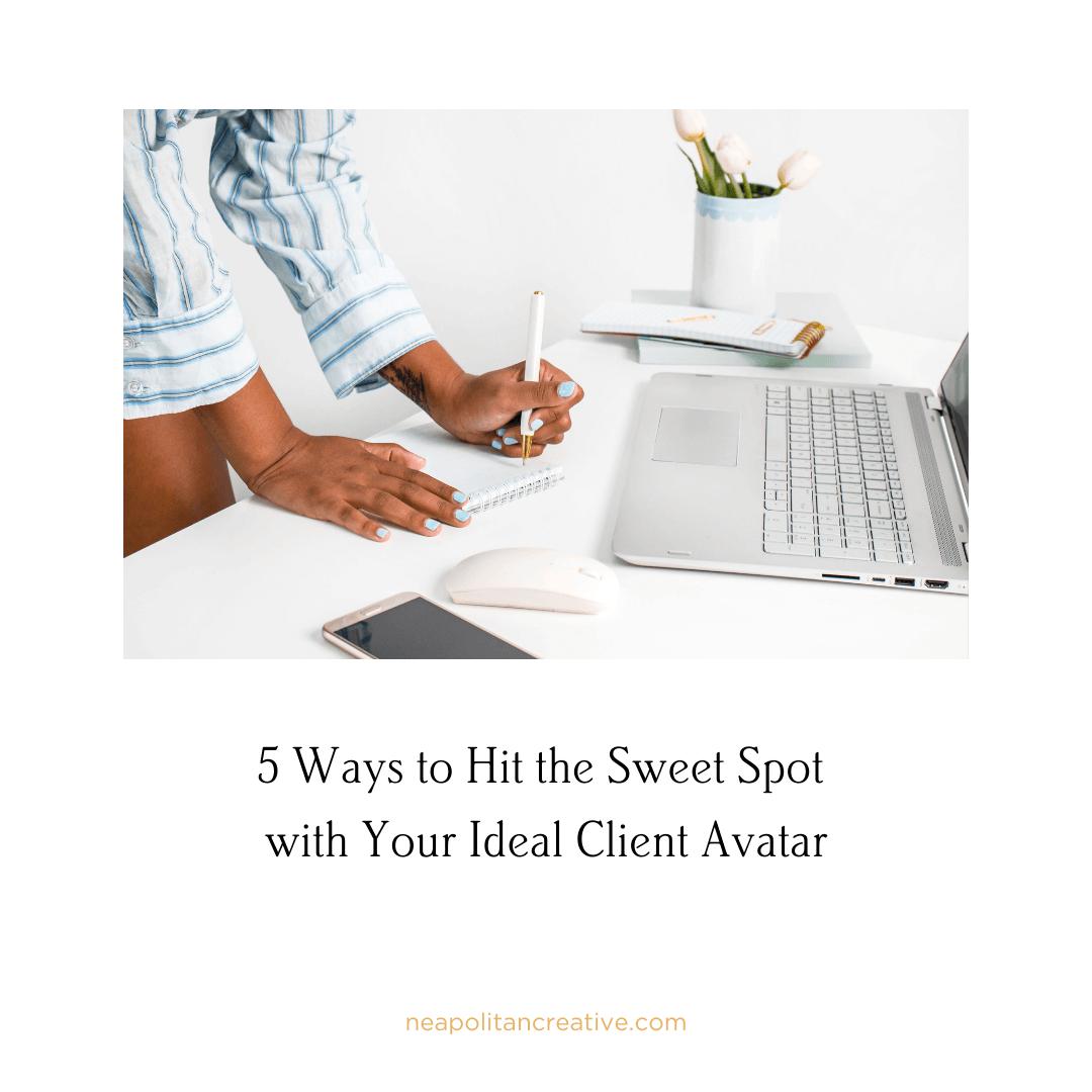 5-ways-to-hit-sweet-spot Website Blog Graphic
